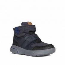 Купить сапоги geox, цвет: синий/черный ( id 11060216 )