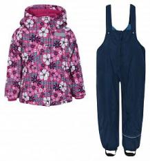 Купить комплект куртка/полукомбинезон salve by gusti, цвет: розовый/голубой ( id 9820134 )