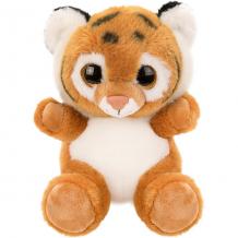 """Купить мягкая игрушка fluffy family """"крошка тигренок"""", 15 см, бело-коричневая ( id 12969760 )"""