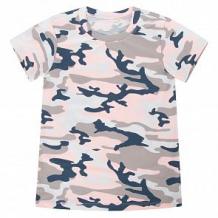 Купить футболка leader kids камуфляж, цвет: розовый ( id 11271356 )