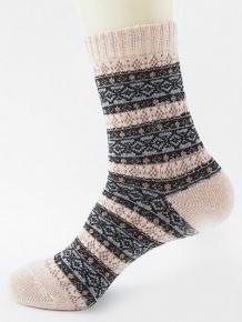 Купить ethnic pattern thick crew socks 363114804
