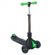 Купить самокат capella m088, цвет: зеленый/черный m088 black+green