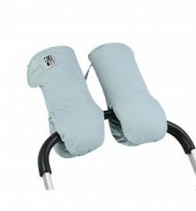 Купить муфты-варежки leokid для коляски slate, цвет: бирюзовый/серый ( id 10111998 )