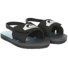 Купить сандалии детские quiksilver molokai lysl-td black/grey/blue черный 1201186