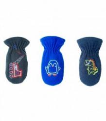 Купить варежки yo!, цвет: синий ( id 9976446 )