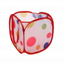 Купить корзина для игрушек наша игрушка цветной горошек ( id 12745516 )
