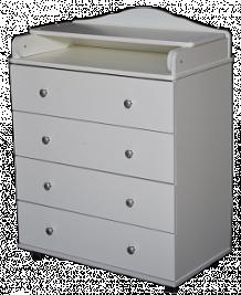 Комод пеленальный Антел Ульяна 2, цвет: белый ( ID 497684 )