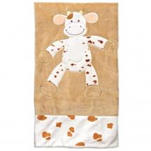 Купить плед teddykompaniet динглисар корова 90х90 см
