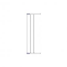 Купить дополнительная секция к воротам безопасности 18 см, белый ( id 4722142 )