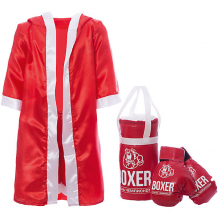 """Купить игровой набор для бокса """"боксер №1"""", в подарочной упаковке, 30 см 7684140"""