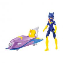 Купить набор с фигуркой dc super hero girls бэтгёрл с мотоциклом, 15 см ( id 8864674 )