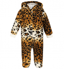 Купить комбинезон leader kids плюшевые зверята, цвет: бежевый/коричневый ( id 760771 )