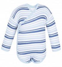 Купить боди чудесные одежки 540139, цвет: белый/синий ( id 5779393 )