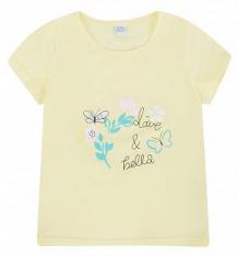 Купить футболка fun time, цвет: желтый ( id 10380776 )