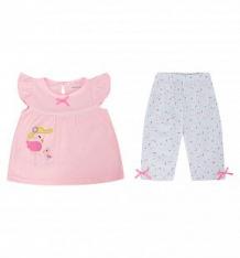 Купить комплект туника/леггинсы bony kids, цвет: розовый ( id 10380044 )