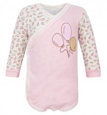 Купить боди папитто воздушные шарики, цвет: розовый ( id 6070801 )