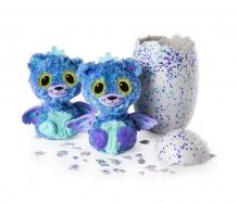 Купить интерактивная игрушка hatchimals близнецы вылупляющиеся из яйца 19110-purp 19110-purp