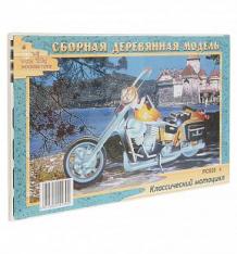 Купить сборная деревянная модель wooden toys классический мотоцикл ( id 2960198 )