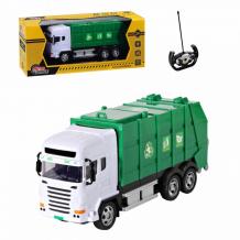 Купить autodrive мусоровоз на радиоуправлении 4 канала jb1167927