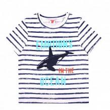 Купить футболка optop, цвет: белый/синий ( id 12756706 )