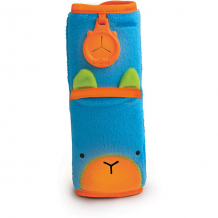 Голубая накладка-чехол для ремня безопасности в авто ( ID 3711111 )