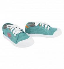 Купить кеды kakadu, цвет: бирюзовый ( id 5108965 )
