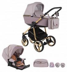 Купить коляска 2 в 1 adamex reggio special edition, цвет: пудровый ( id 10329866 )
