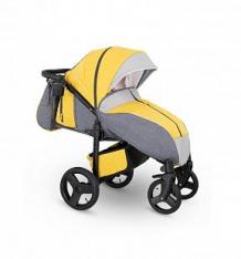 Купить прогулочная коляска camarelo elf, цвет: желтый джинс/серый ( id 10053501 )