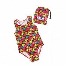 Купить купальник слитный aruna слоники розовые, цвет: розовый/желтый ( id 12608380 )