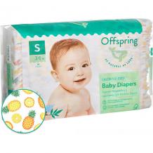 Купить подгузники offspring ананасы 3-6 кг, 48 шт ( id 16345971 )