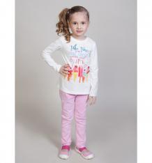 Купить брюки sweet berry цветочная поляна, цвет: розовый ( id 10338992 )