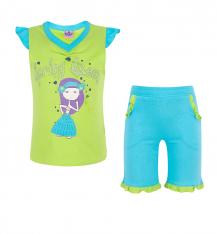 Купить комплект кофта/шорты tiger baby & kids, цвет: зеленый ( id 5383981 )