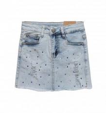 Купить юбка sweet berry колибри, цвет: голубой ( id 10339379 )
