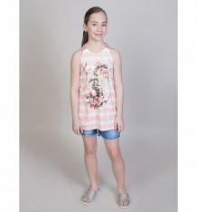 Купить топ luminoso фламинго, цвет: белый/розовый ( id 10347722 )
