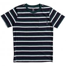 Купить футболка детская dc shoes oakride boy dark indigo синий,зеленый,белый ( id 1196736 )