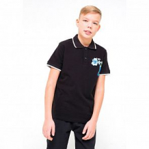 Купить футболка-поло cubby, цвет: черный ( id 12757828 )