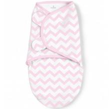 Купить конверт для пеленания на липучке summer infant swaddleme, s/m, pink chevron girl summer infant 997095816