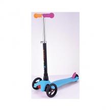 Купить трехколесный самокат buggy boom mini, синий ( id 8074977 )