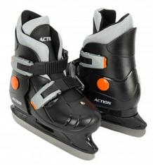 Купить коньки фигурные action sport pw-219 размер:29-32, цвет: черный ( id 7356871 )