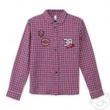 Купить рубашка play today snow college, цвет: красный/белый ( id 11784034 )