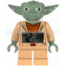 Купить часы lego будильник войны клонов йода 9003080