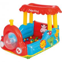 """Купить игровой центр bestway fisher price """"паровоз"""" с 25 шариками ( id 4639772 )"""