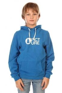 Купить толстовка кенгуру детская picture organic basement hood blue синий ( id 1132460 )