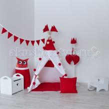 Купить vamvigvam вигвам simple red с окном и карманом vv010302