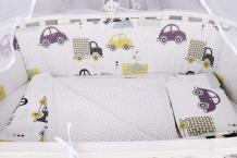 Купить комплект в кроватку amarobaby город (4 предмета)