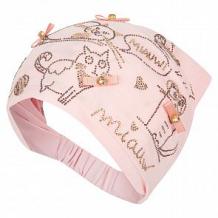 Купить косынка levelpro kids кошкин дом, цвет: розовый ( id 10458365 )