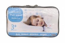 Купить askona подушка pur wave
