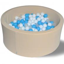 """Купить сухой бассейн hotenok """"ванильные облака"""" 40 см, 200 шариков 9633816"""