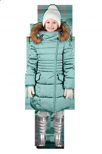 Купить пальто boom by orby, цвет: бирюзовый ( id 6205783 )