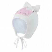 Купить шапка stella's kids корона, цвет: белый ( id 12494836 )
